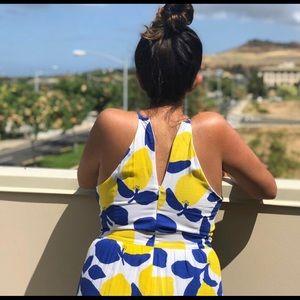 Dresses & Skirts - LOFT lemon sundress 🍋